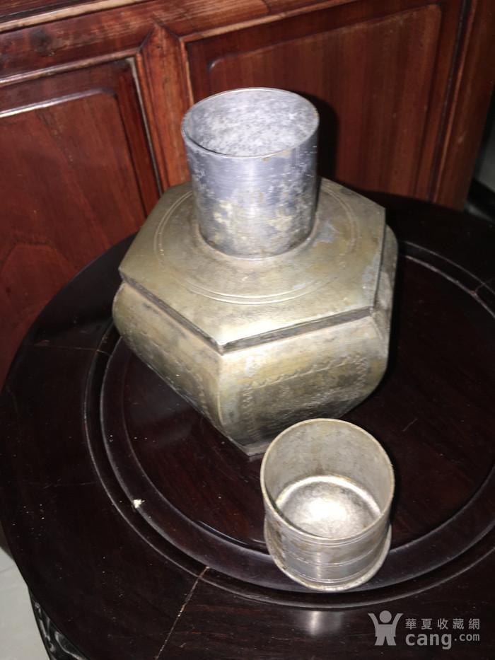 六边型锡制小茶叶罐图5