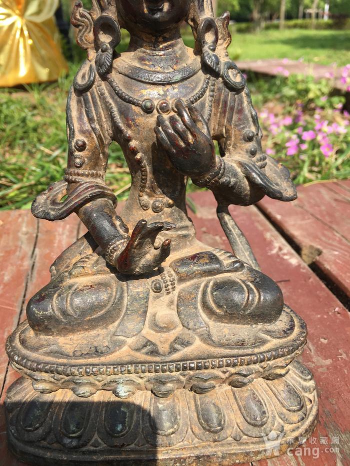 铜佛像一尊图6
