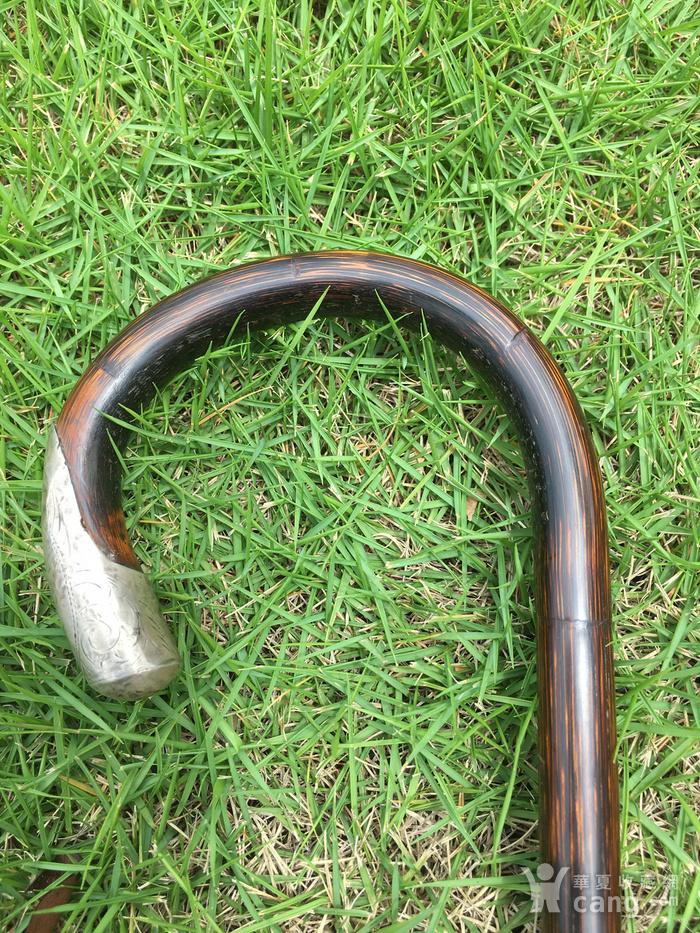 竹包银文明杖图5