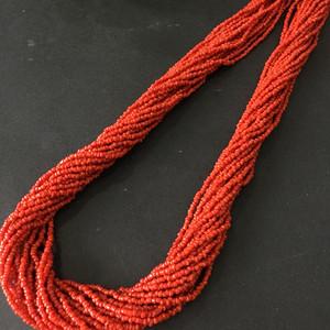 8073欧洲回流珊瑚项链