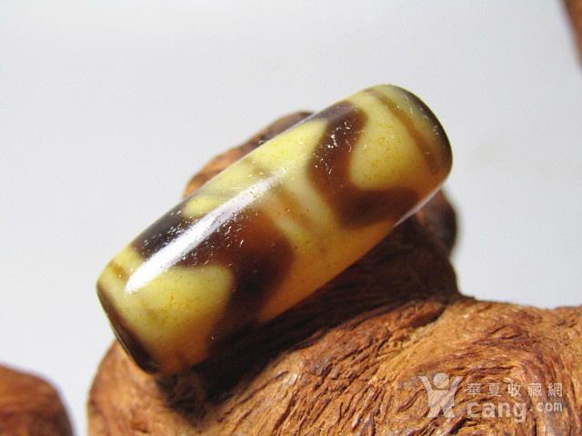 藏传玛瑙 水波纹 天珠 包浆滑熟图4