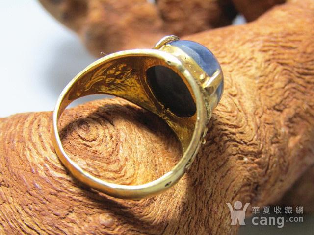 回流 斯里兰卡 蓝宝石 戒面戒指图2
