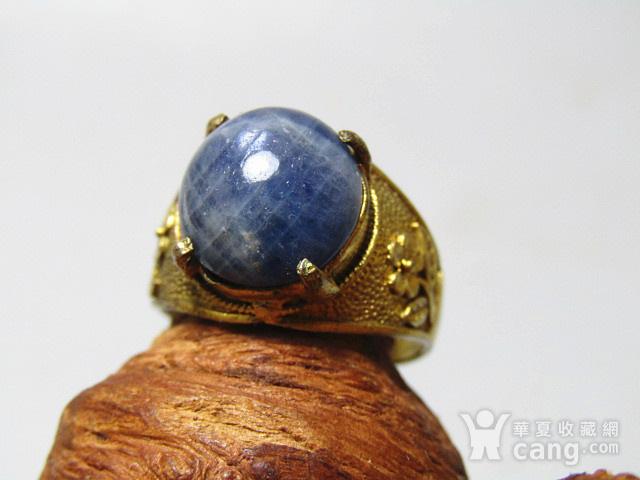 回流 斯里兰卡 蓝宝石 戒面戒指图4