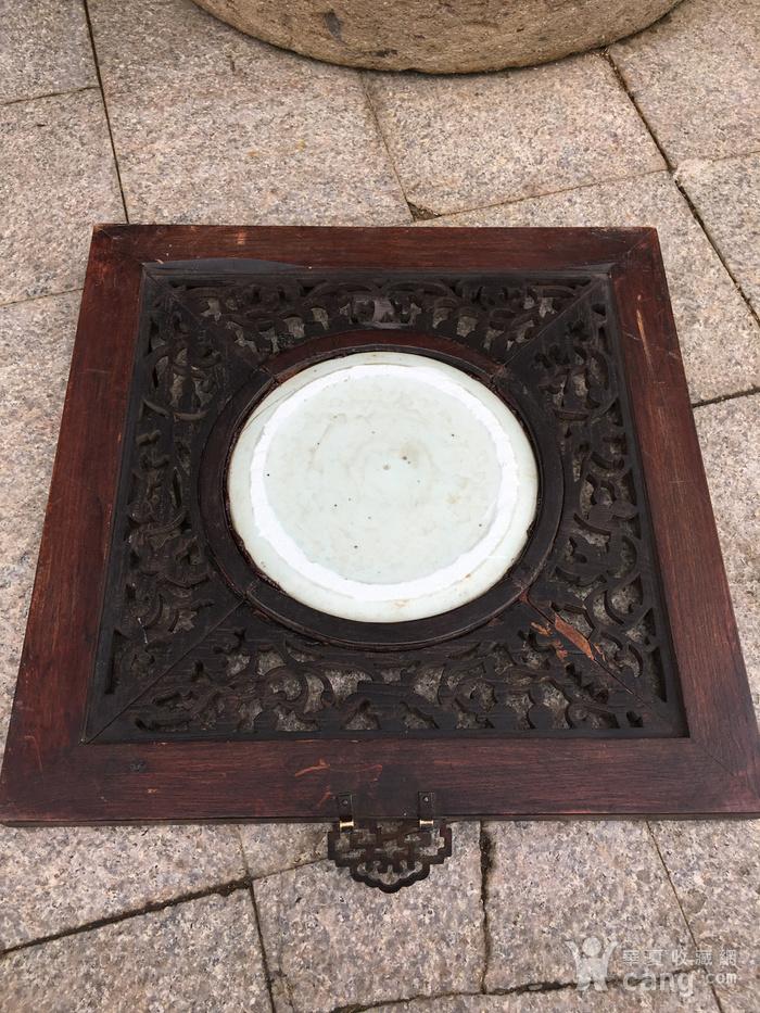 老瓷盘配的挂件图5