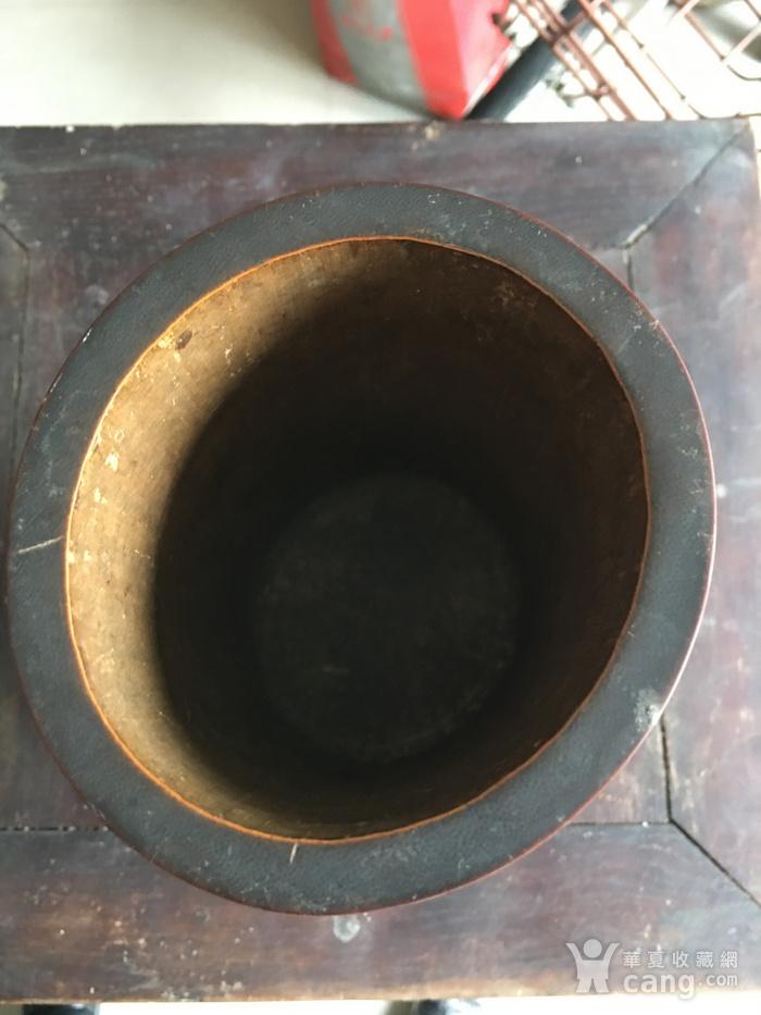 竹雕过墙龙香筒图6