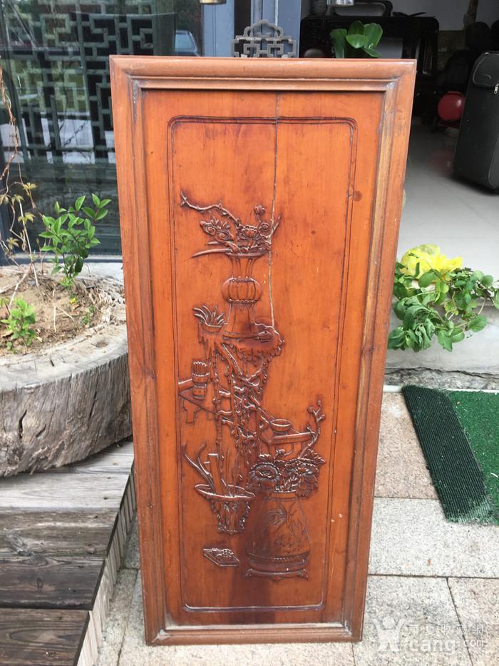 杏木浮雕挂屏图1