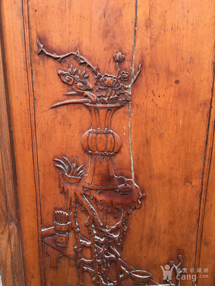 杏木浮雕挂屏图2