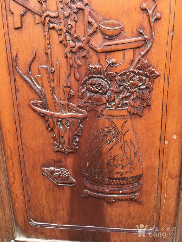 杏木浮雕挂屏图3