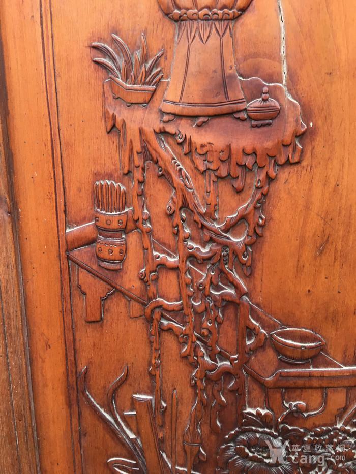 杏木浮雕挂屏图4