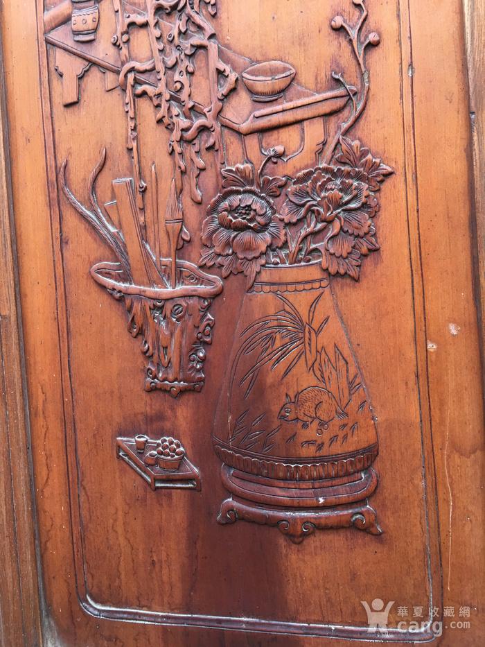 杏木浮雕挂屏图5