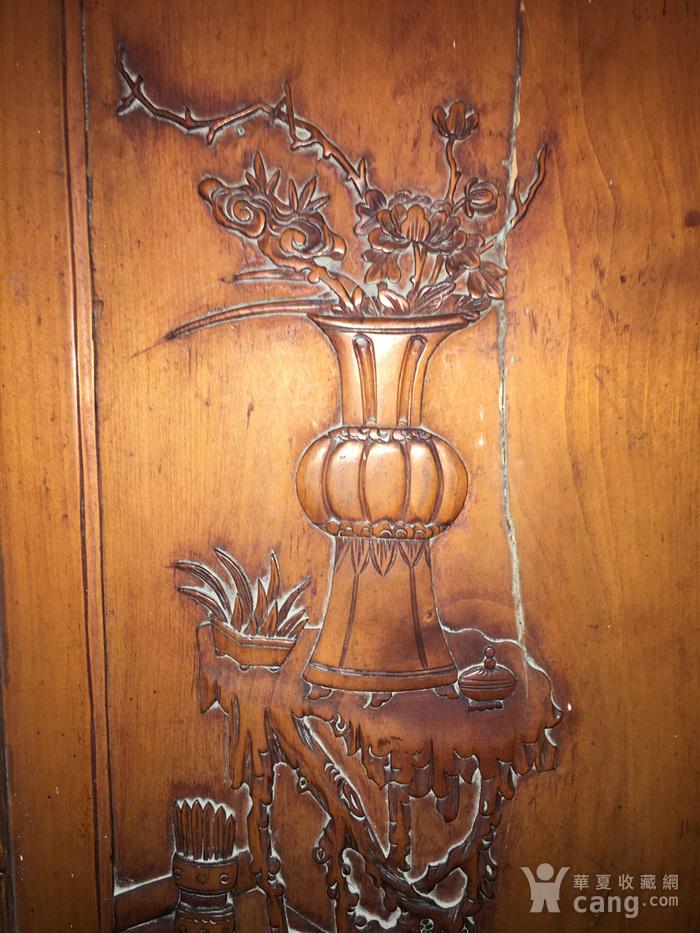 杏木浮雕挂屏图8