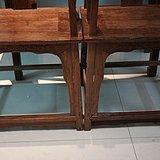 典藏展示  清代黄花梨一堂4椅