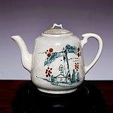 藏海淘 民国粉彩茶壶 JZ136