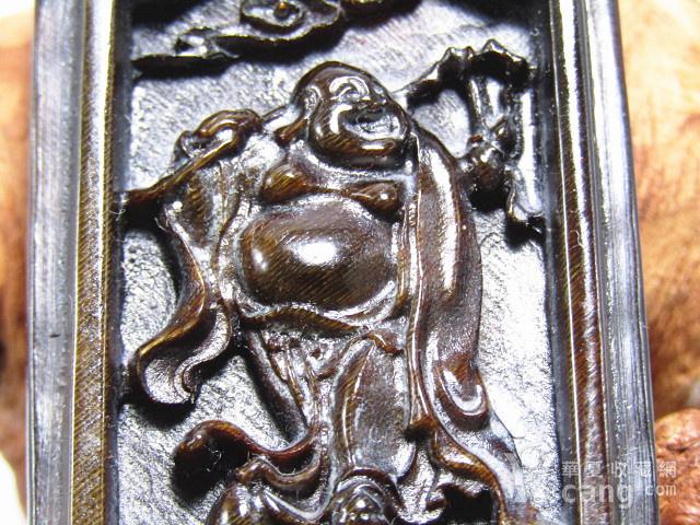 亚洲黑干料 弥勒佛 牌 特征明显 手工雕刻图8