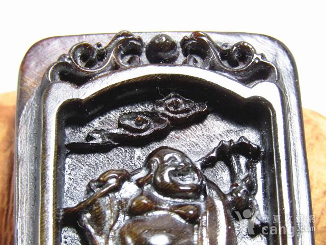 亚洲黑干料 弥勒佛 牌 特征明显 手工雕刻图5