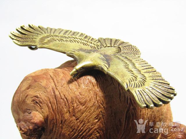 回流 老铜打造 雄鹰展翅 包浆厚重图1