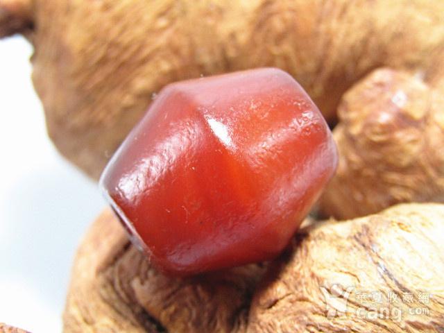 清红玛瑙 福腰珠 包浆熟厚图1