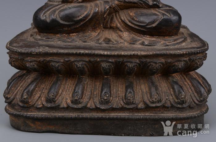 欧洲回流铜镏漆金佛像图3