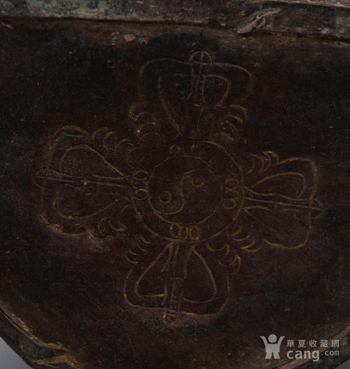 欧洲回流铜镏漆金佛像图7
