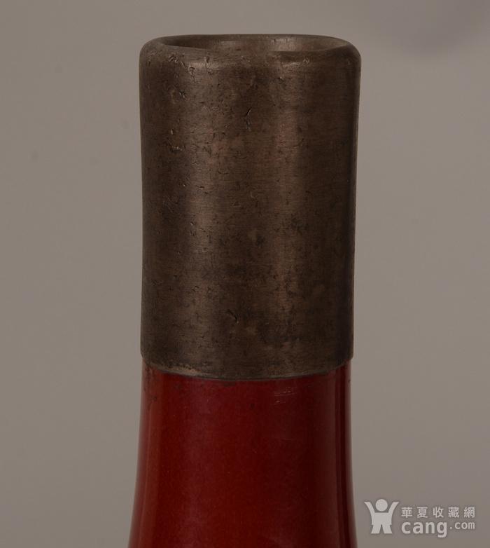 欧洲回流红釉胆瓶图2