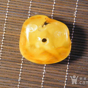 波罗的海天然老蜜蜡原石.饼子10.6克