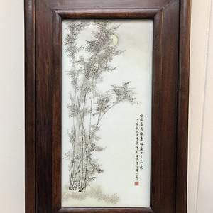 联盟 CK811墨竹瓷板画