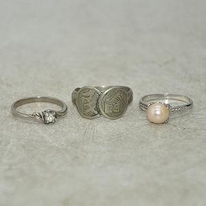 回流戒指三枚8.6克
