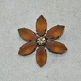 6.2克镶水晶胸针