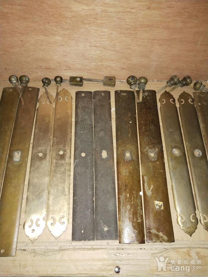 七对老铜件图3