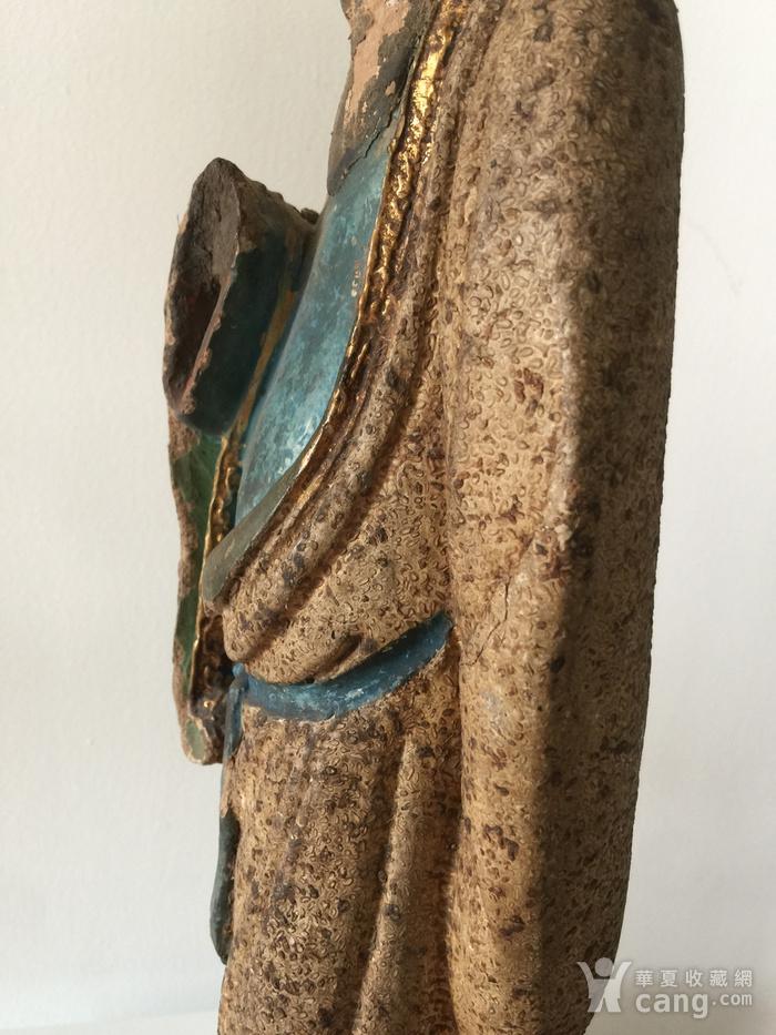 明代泥塑高士像图8