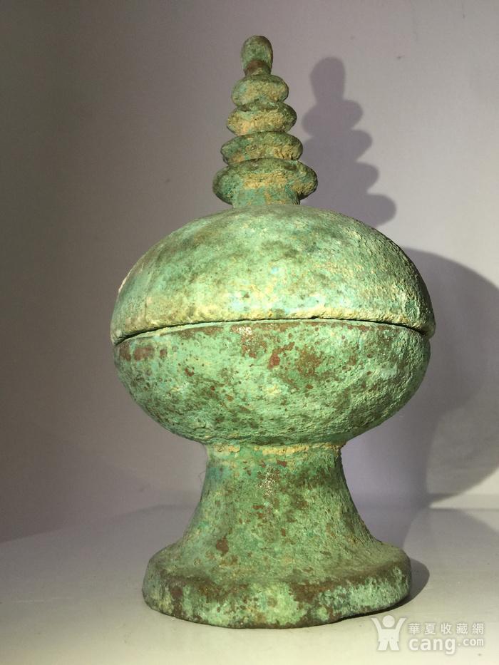 宋 代青铜舍利瓶图7