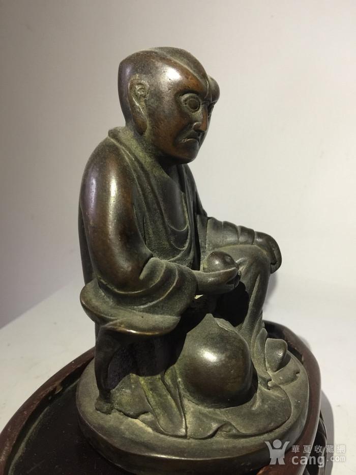 明代铜雕罗汉图3
