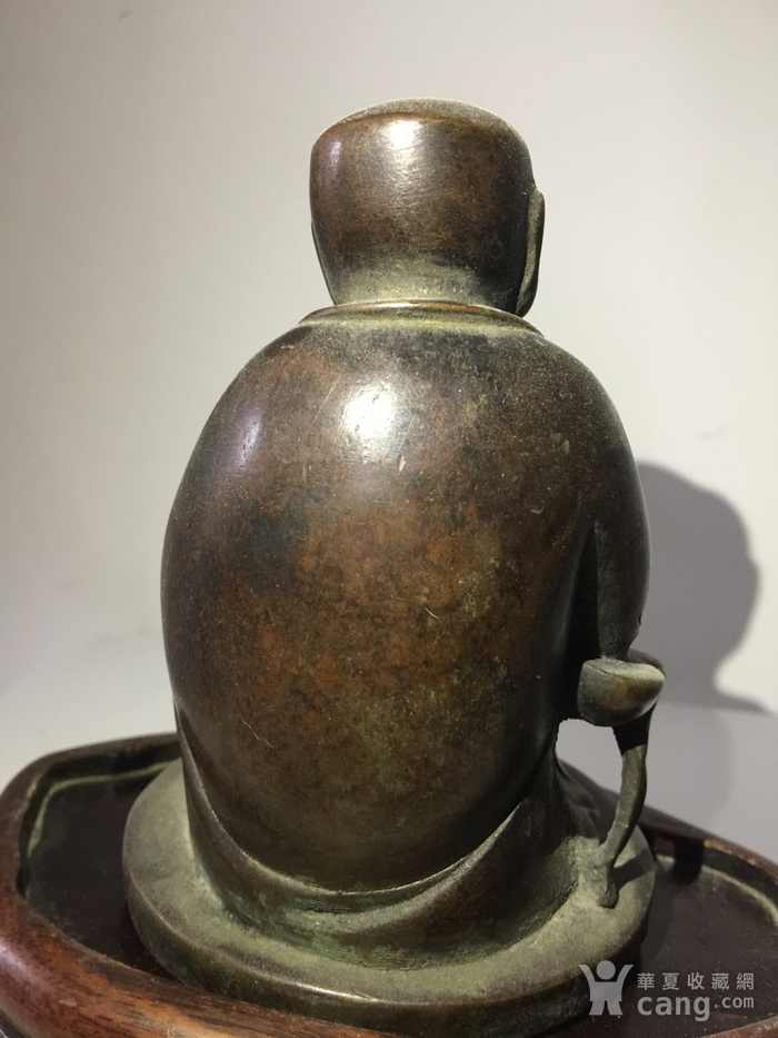 明代铜雕罗汉图5