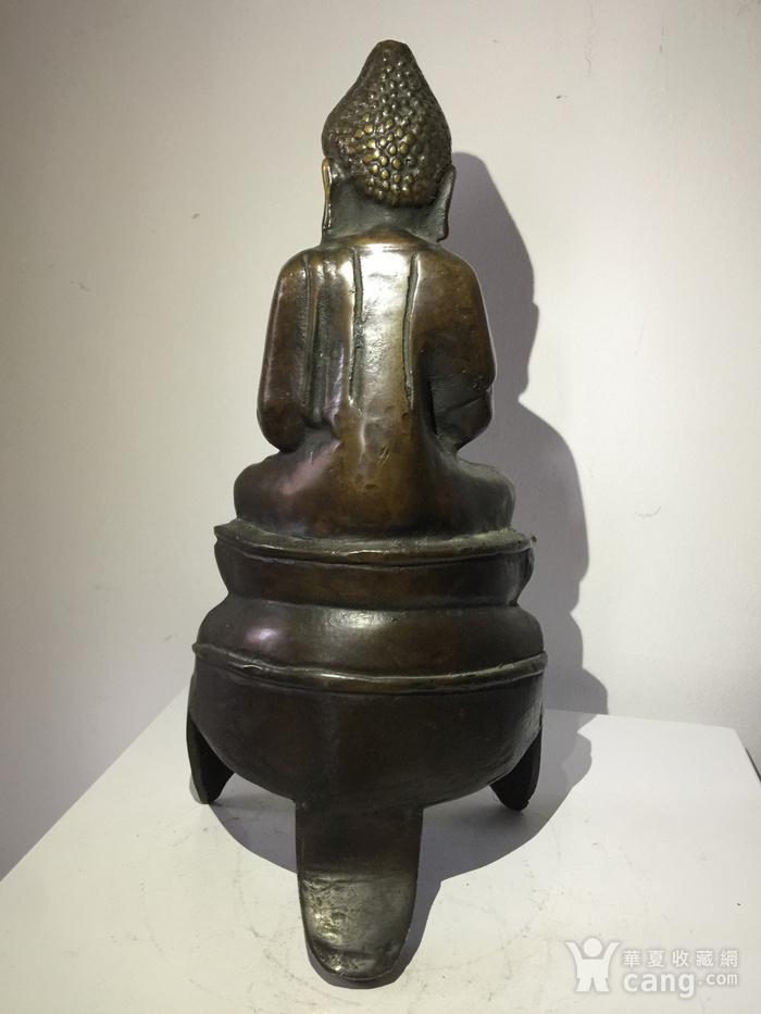 明代铜雕释迦牟尼佛图6