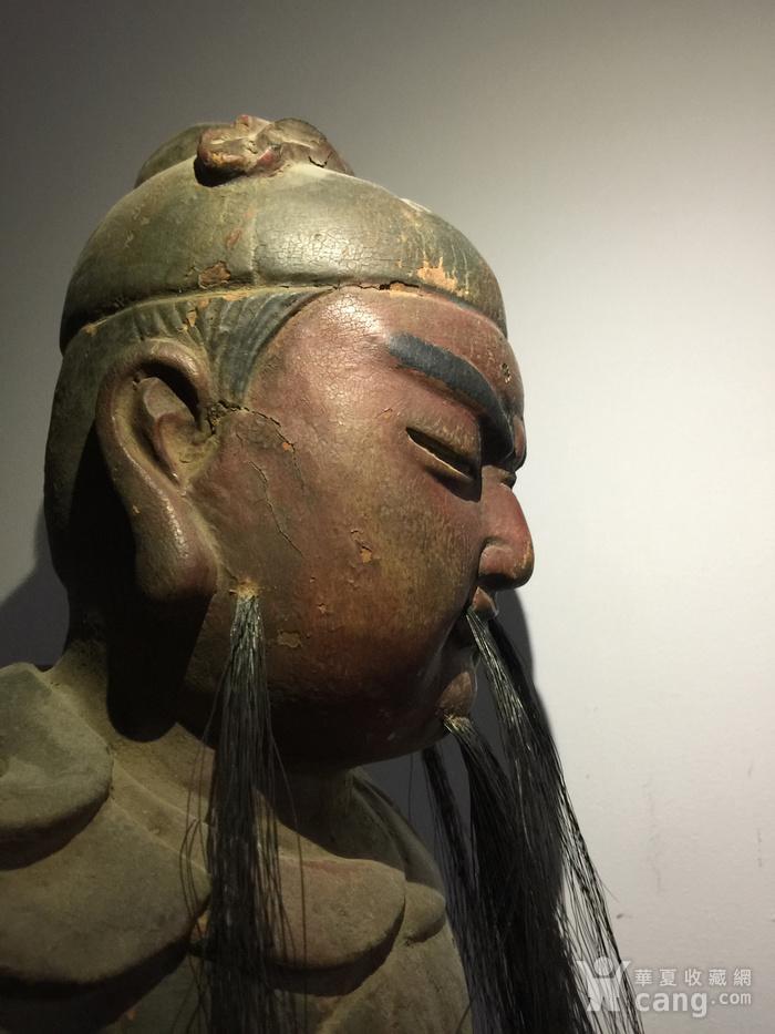 明代嘉靖年木雕关公图7
