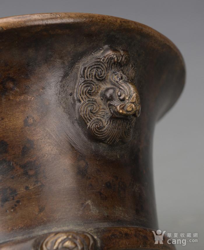 欧洲回流铜香炉图4