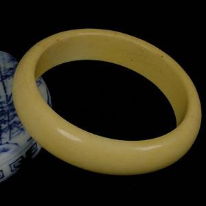 天然xiang牙果手镯 仿猛犸牙