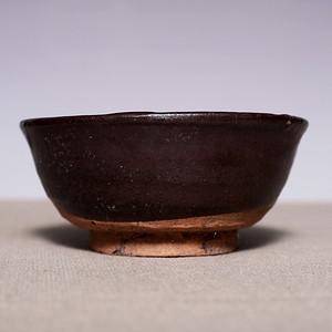 藏海淘 元高古黑釉碗 JZ317