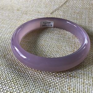 粉紫玉髓手镯