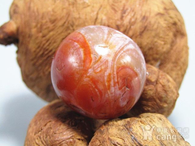 唐红玛瑙珠 大珠 包浆熟厚图6
