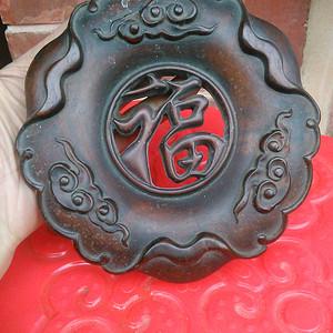 红木香炉底座