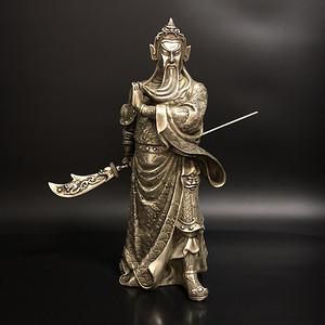 纯银公关佛像