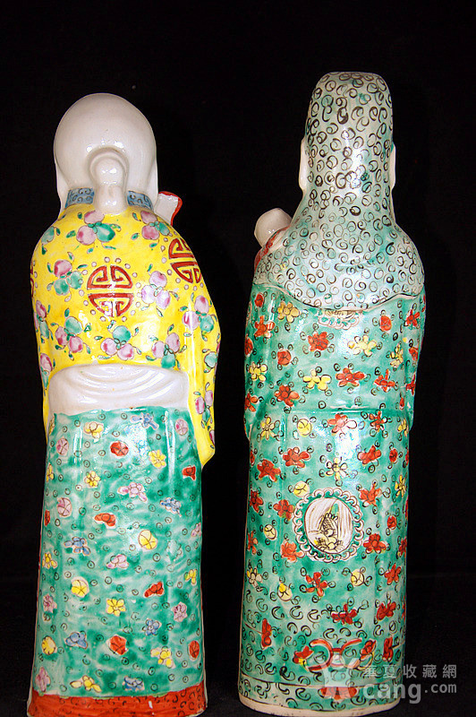 清禄星寿星瓷塑图4