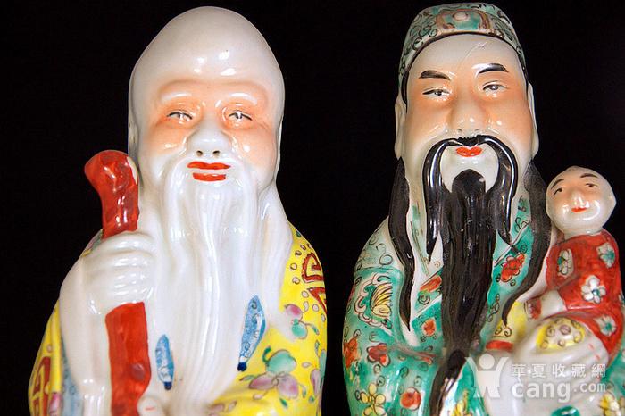 清禄星寿星瓷塑图2