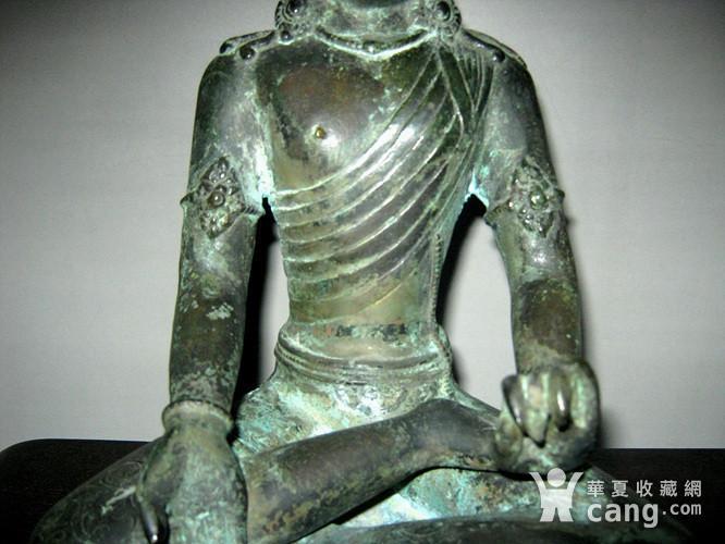 回流清代藏传大型铜佛图6