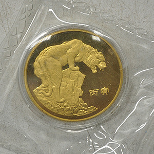 1986丙寅虎年纪念章