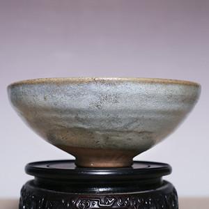 已鉴定 元窑变釉钧窑大瓷碗 JZ292