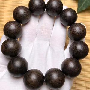 联盟 天然上等正宗印尼土沉香,又叫黑沉珠圆质纯!香味浓郁!