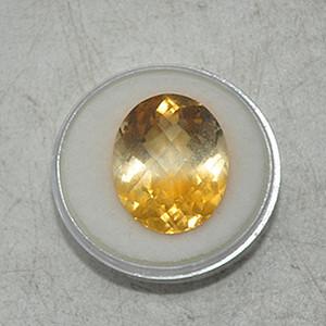 15克拉黄水晶戒面
