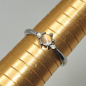 2.1克镶水晶戒指